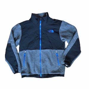 North Face Gray Denali fleece jacket 10/12